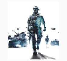 Battlefield 3 White by The5thHorseman