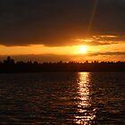 Sunset @ Seward Park, 07/10/2013 - Seattle, WA by VimanaVisual