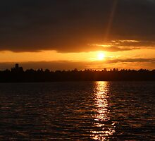 Sunset @ Seward Park, 07/10/2013 - Seattle, WA by VimanaVisual