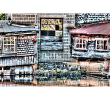 Saw Mill Reflections Photographic Print