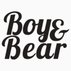 Boy & Bear by ernieandbert