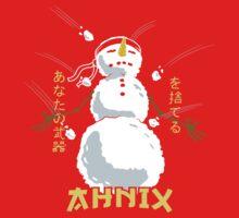 Zen Snowman Kids Tee