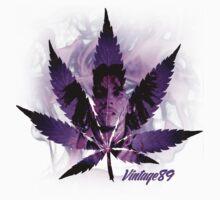 Purple Kush Marley Tee by Vintage89