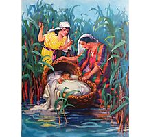 Moses in the Bulrushes Photographic Print