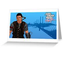 JCMP/GTA: VC Rico Rodriguez Greeting Card
