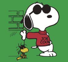joe cool and woodstock! One Piece - Short Sleeve