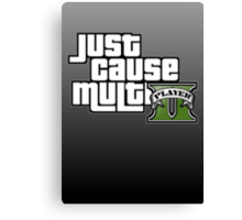 JCMP/GTA 5 Logo Canvas Print
