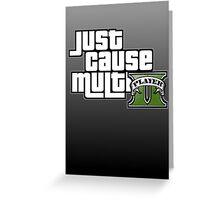 JCMP/GTA 5 Logo Greeting Card