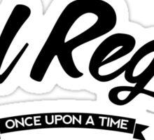 Once Upon a Time - Evil Regal - Dark Sticker