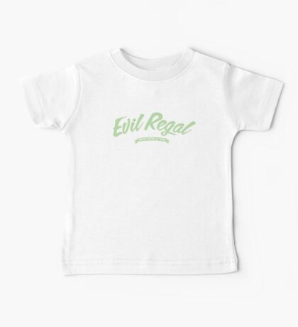 Once Upon a Time - Evil Regal - Green Baby Tee