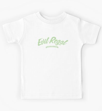 Once Upon a Time - Evil Regal - Green Kids Tee