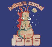 Halley's Comet 1986 - Vintage by Paul Webster
