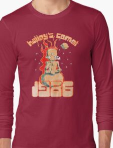 Halley's Comet 1986 - Vintage Long Sleeve T-Shirt
