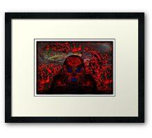 ©DA Aldebaran Alien IIIAC Framed Print
