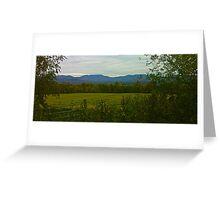 Vermont Scenes  Greeting Card