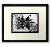 ©DA Concept Tree IAIV Monochromatic Framed Print