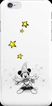 Fantasia - Magic Mickey by ChloeJade