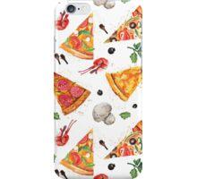 pizza love mushroom iPhone Case/Skin