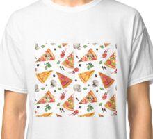 pizza love mushroom Classic T-Shirt