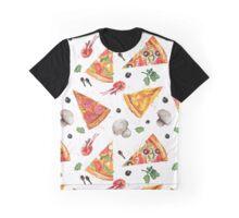 pizza love mushroom Graphic T-Shirt