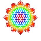 Flower of life - Lotus, healing & energizing by nitty-gritty