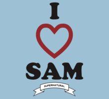 Supernatural - I Love Sam Kids Clothes