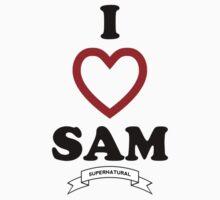 Supernatural - I Love Sam by VancityFilming