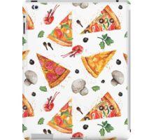 pizza love mushroom iPad Case/Skin