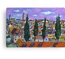 Landscape from Sibiu, Transylvania Canvas Print
