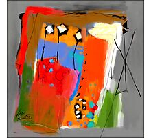 Composition 51 Photographic Print