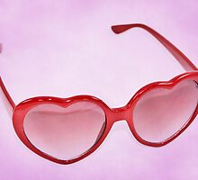 Fabulous Heart Sunglasses Sweet by CptnLucky