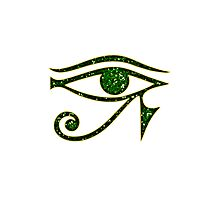 EYE of Horus/ Ra, reverse moon eye of Thoth/ Photographic Print