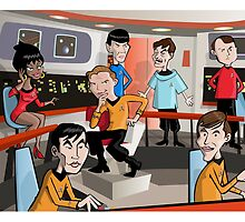 Star trek by Greg Vercoe