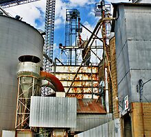 Industrial Composition 01 by EBArt