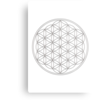Flower of life, sacred geometry, energizing & purification Metal Print
