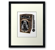La Santa Muerte Regular Framed Print