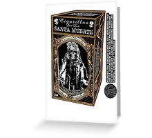 La Santa Muerte Regular Greeting Card