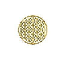 Flower of life, sacred geometry, energizing & purification Photographic Print