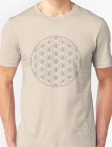 Flower of life, sacred geometry, energizing & purification Unisex T-Shirt