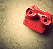Retro Red Toy Viewmaster by CptnLucky