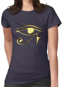 EYE of Horus, Protection & Wisdom Womens Fitted T-Shirt