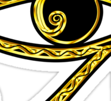 EYE OF HORUS - Protection Amulet Sticker