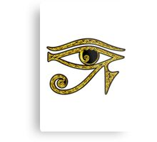 EYE OF HORUS - Protection Amulet Metal Print