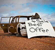 Best Offer Burned Out Car by CptnLucky