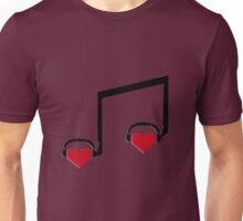 Music Connects Us to Our Soulmates Unisex T-Shirt