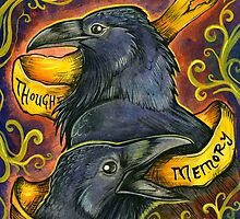 Huginn and Muninn by Shadow Festival