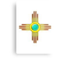 Zia Sun - Zia Pueblo - New Mexico Metal Print