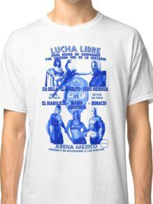 Lucha libre noche de campeones Classic T-Shirt