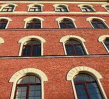 facade of a brick house by mrivserg