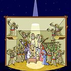 The Twelfth Day of Christmas (12 Drummers Drumming) by Thingsesque